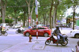 ベトナムjの街角
