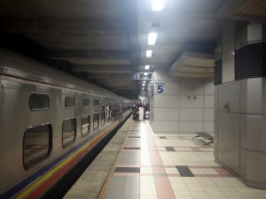 JBセントラル駅到着