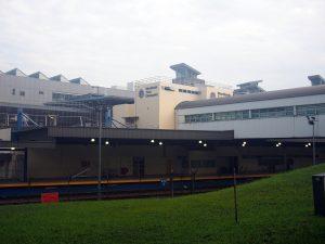 シンガポール側駅