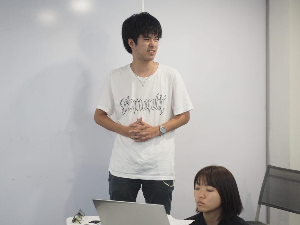 グロキャンに参加をしている石田氏