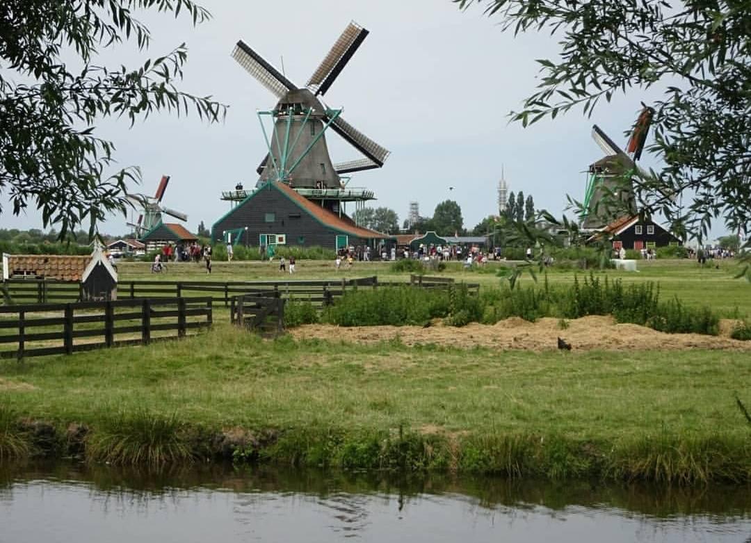 オランダの街並み