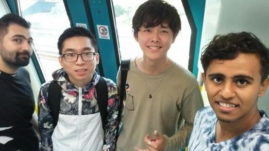 マレーシアで留学中の大塚さん