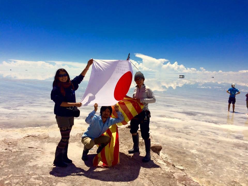 ボリビアのウユニ塩湖②