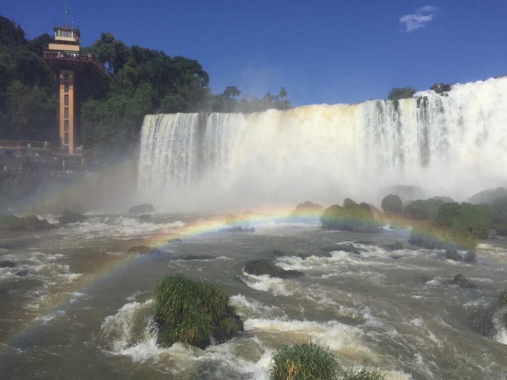 旅行で行ったイグアスの滝