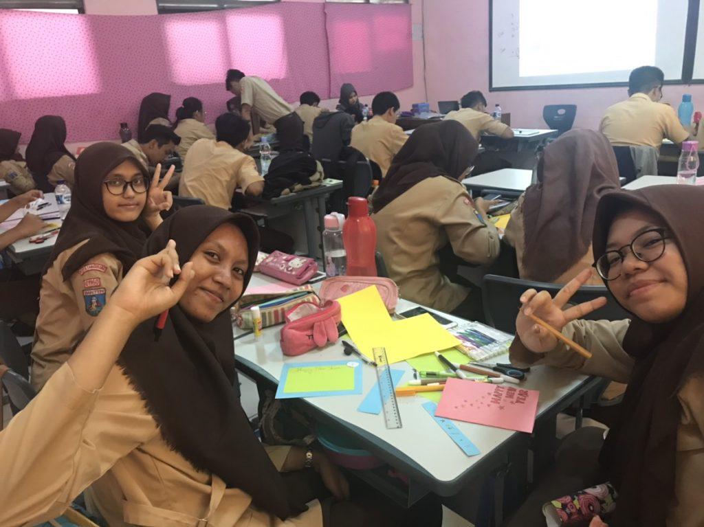 インドネシアの学校の様子