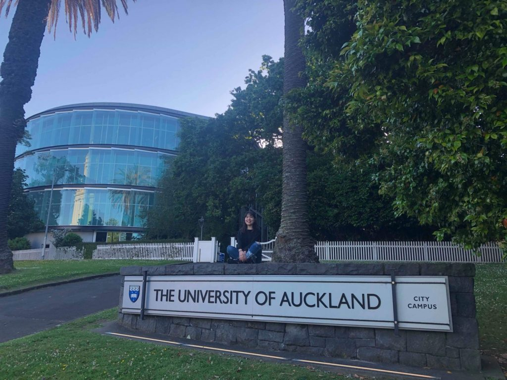 本田さんがニュージーランドで通っていた大学
