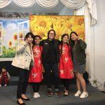 坂田さんと友達の写真
