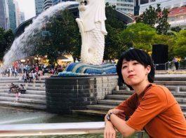 シンガポールでインターンシップをした櫻井さん