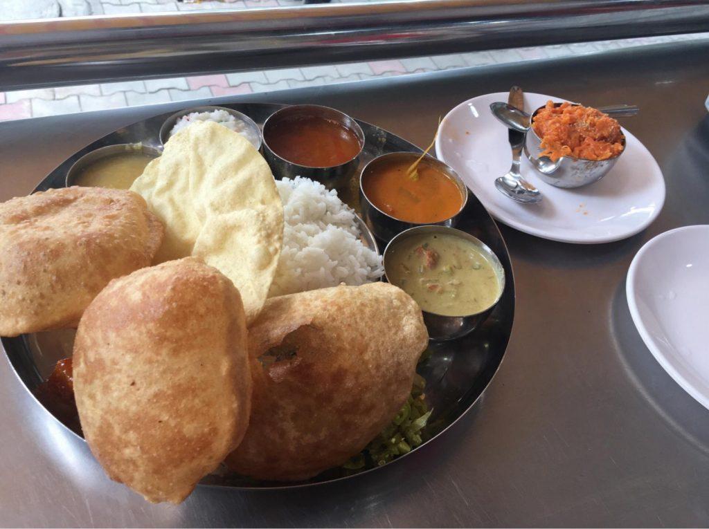 高本さんがインドで食した食べ物