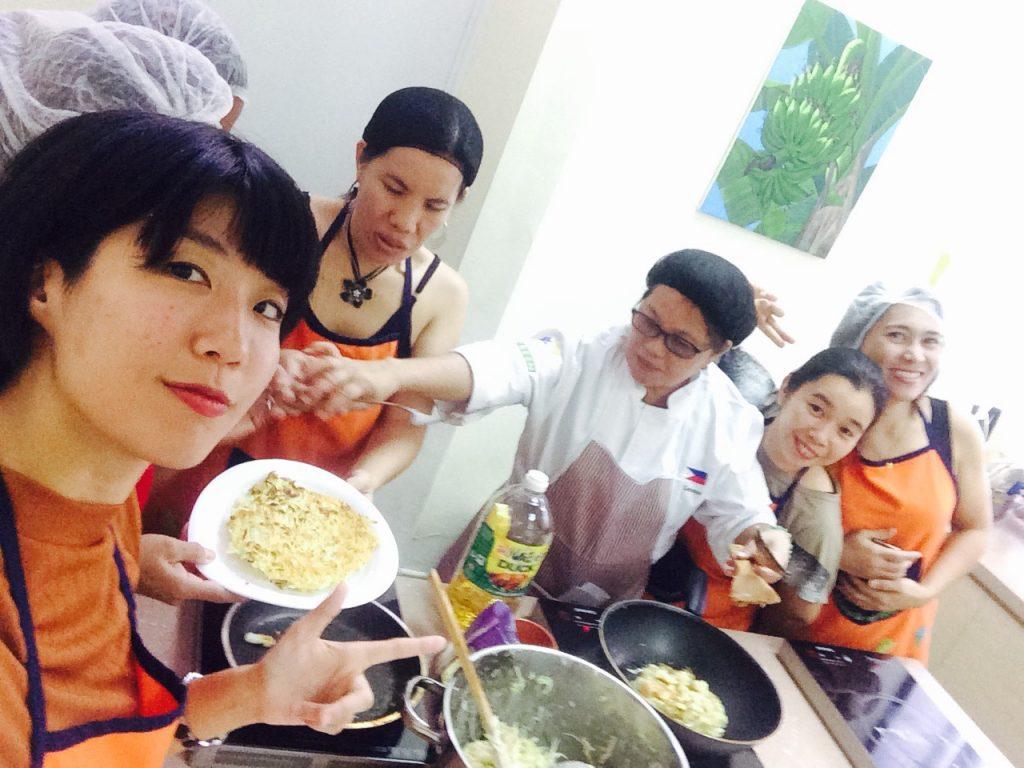 日本料理をイベントで作った
